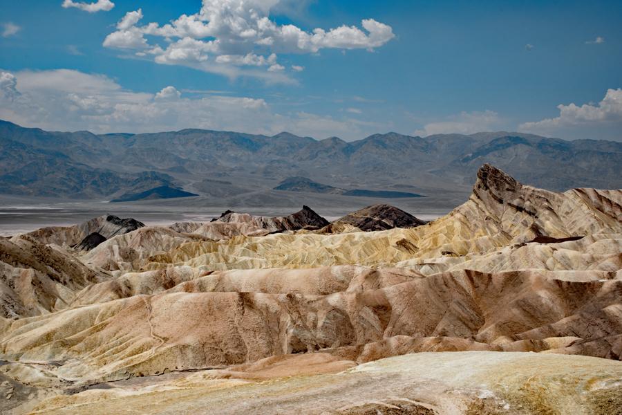 Californie - Death Valley NP : Zabriskie Point