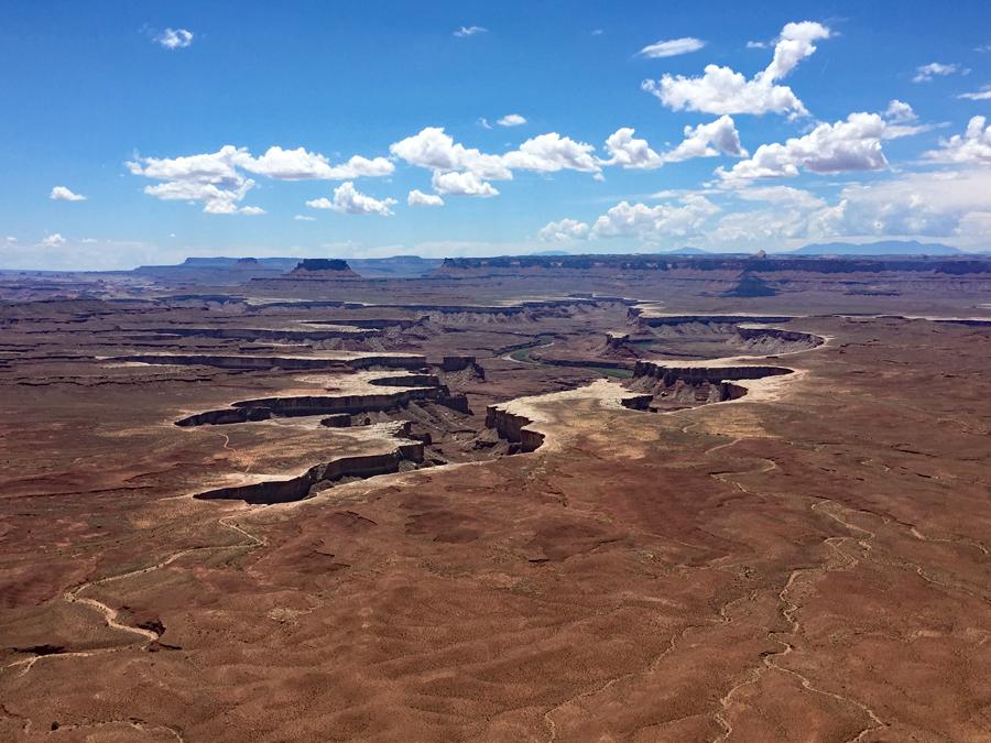 Utah- Canyonlands N.P. : Green River Overlook
