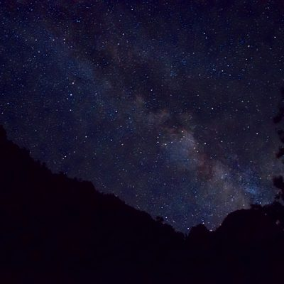 Milky Way over Zion N.P. - Utah