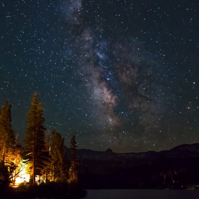 Milky Way over Yosemite N.P - California