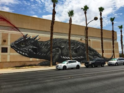 "Las Vegas (2016) "" Horned Toad"" by Roa"