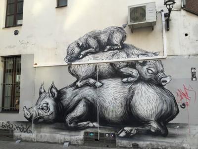 Bruxelles (2015) by Roa