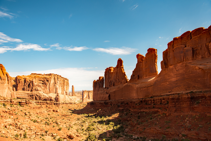 Utah-Arches N.P : Avenue viewpoint