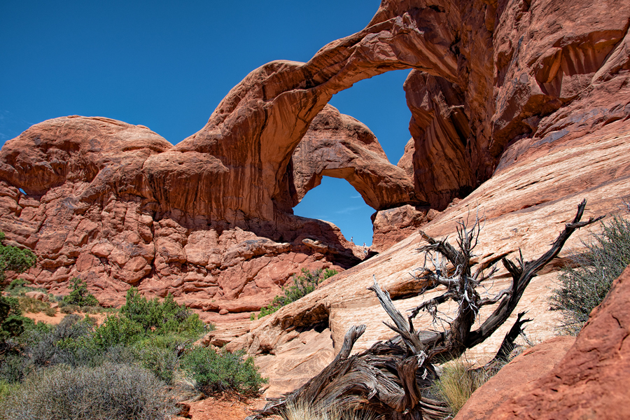 Utah-Arches N.P : Double Arch