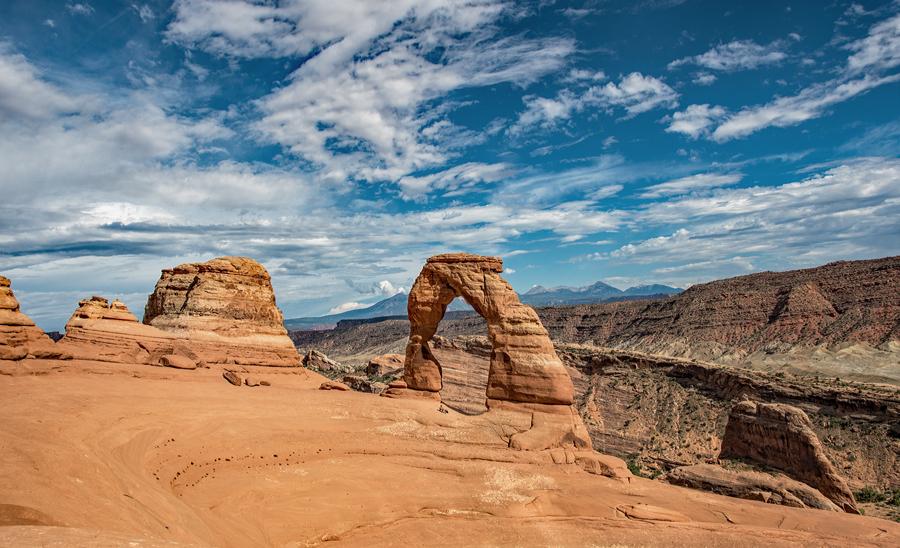 Utah-Arches N.P : Delicate Arch