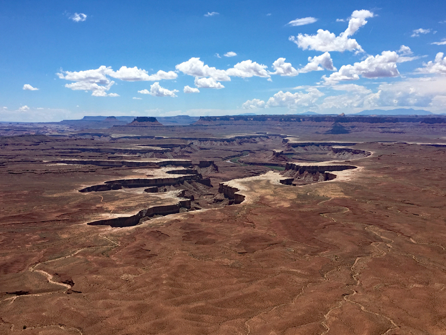 Utah- Canyonlands N.P. : Green River Overlook