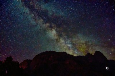 MIlky Way over Yosemite N.P. - California